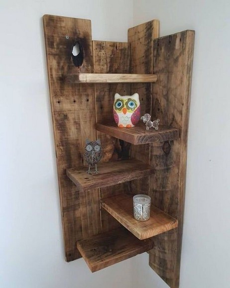 18 Top Choices Wood Wall Shelf 08