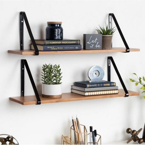18 Top Choices Wood Wall Shelf 12