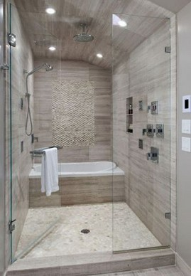 19 Bathroom Shower Makeover Decor Ideas 17