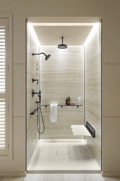 19 Bathroom Shower Makeover Decor Ideas 22