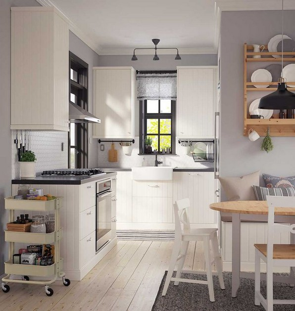 19 Rural Kitchen Ideas For Small Kitchens Look Luxurious 08