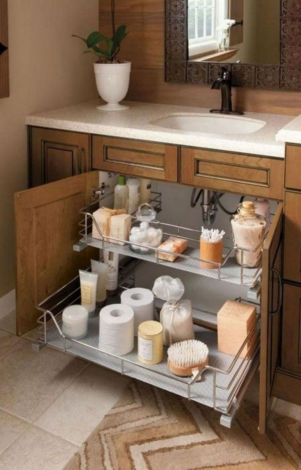 19 Small Bathroom Storage Decoration Ideas 14