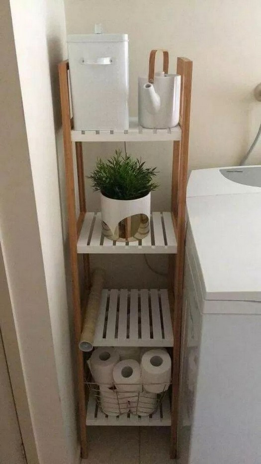 19 Small Bathroom Storage Decoration Ideas 19