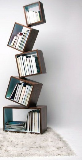 19 Unique Bookshelf Ideas For Book Lovers 04