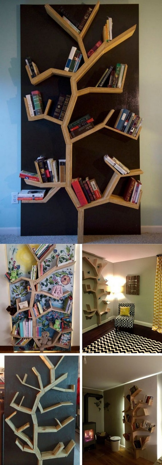 19 Unique Bookshelf Ideas For Book Lovers 20