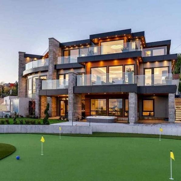 20 Beautiful Modern House Designs Ideas 01