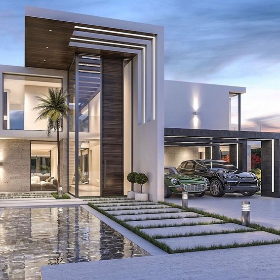 20 Beautiful Modern House Designs Ideas 17