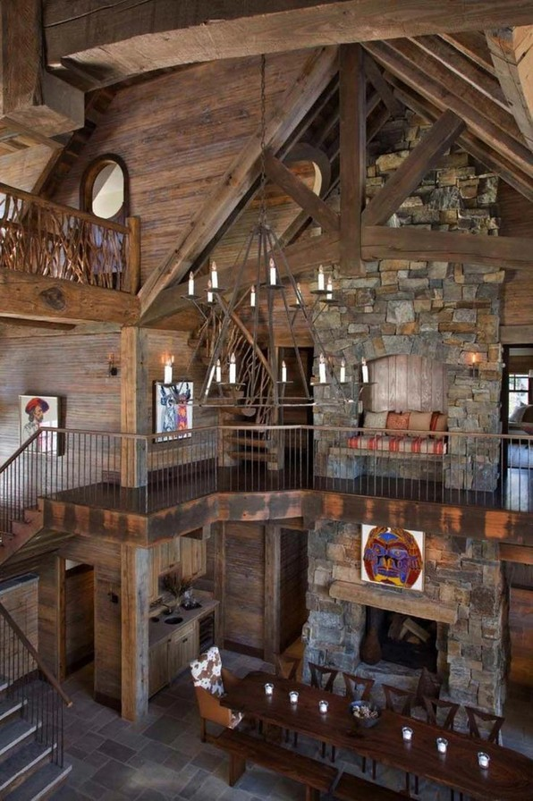 15 Best Rustic Mountain Home Plans 03 1