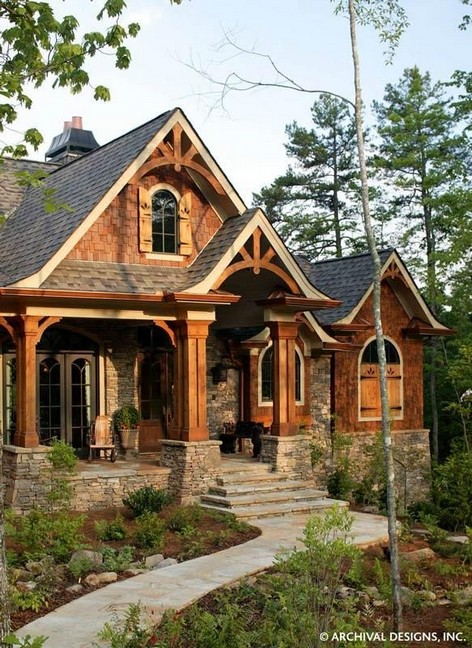 15 Best Rustic Mountain Home Plans 24 2