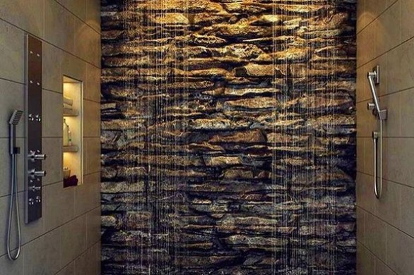 16 Best Rock Shower Ideas 09