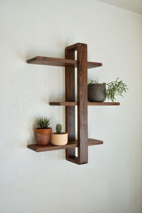 16 Models Wood Shelving Ideas For Your Home 23