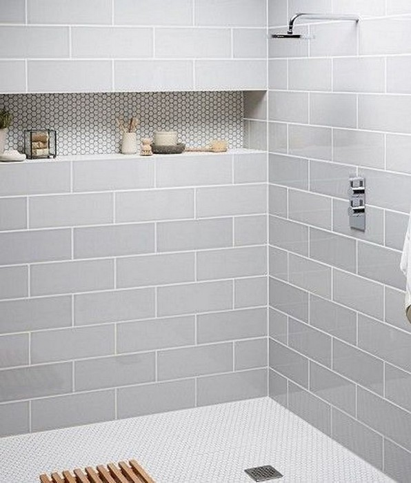 17 Awesome Small Bathroom Tile Ideas 18