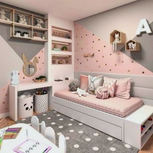17 Girl Bedroom Decorating Ideas That She Will Love 13