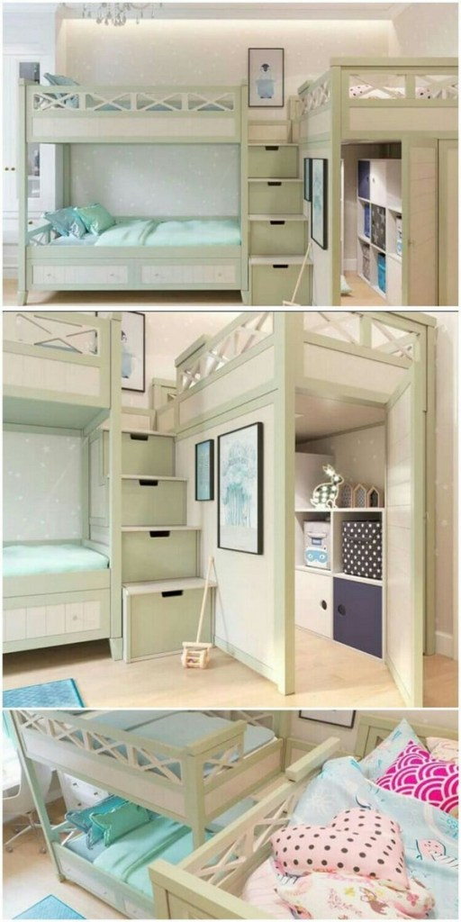 18 Ideas For Fun Children's Bunk Beds 01