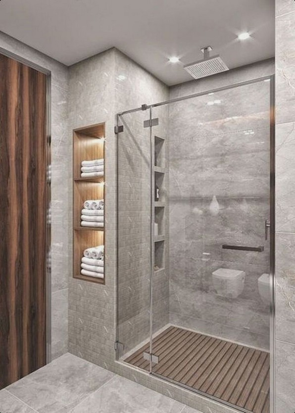 20 Beautiful Bathroom Shower Decoration 08