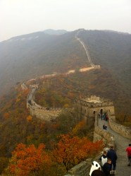 Great Wall in Autumn.