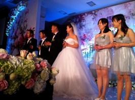 Wedding party.