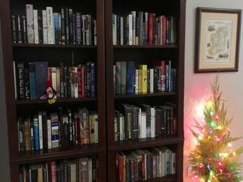 Full bookshelves at last!