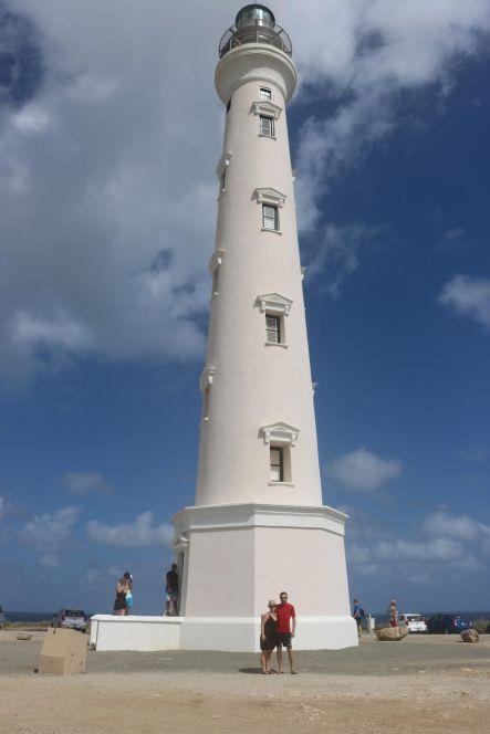 Aruba's California Lighthouse.