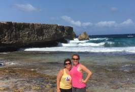 Me and my bestie. When we met as 3-year-olds, we couldn't have imagined sharing a Caribbean adventure one day.