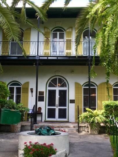 Entrance to Hemingway's house.
