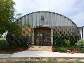 Texas SouthWind Winery's tasting room.