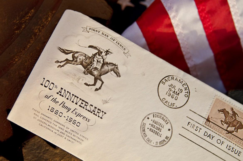 Pony Express Envelope