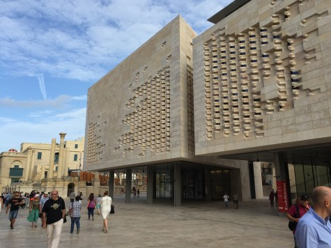 Valletta's new Parliament House by Renzo Piano