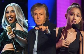 Paul McCartneyやアAriana Grande