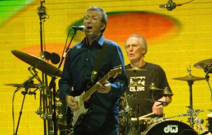 Eric Clapton、Ginger Baker