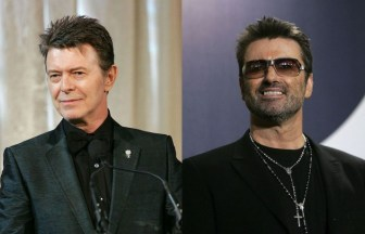 DAVID BOWIEとGeorge Michael