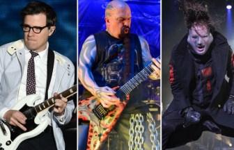 Weezer、Slayer、Slipknot