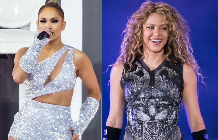 Jennifer LopezとShakira