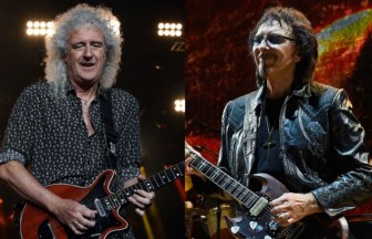 Brian May、Tony Iommi
