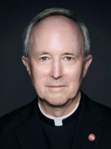 Father Randall Roche, director of the Center for Ignatian Spirituality