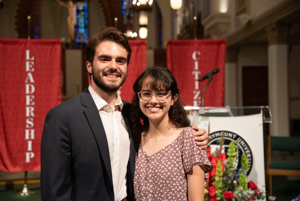 Ignatian and Marian Award Recipients