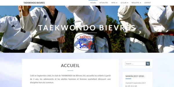 Site Taekwondo bievres