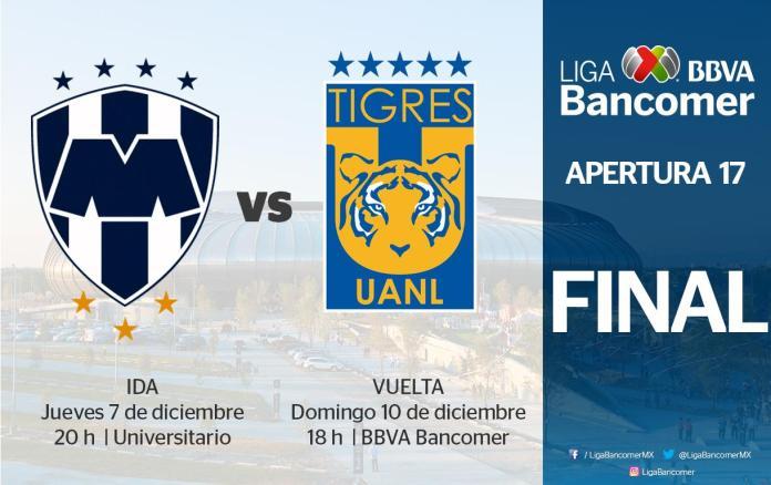 horarios final liga mx 2017