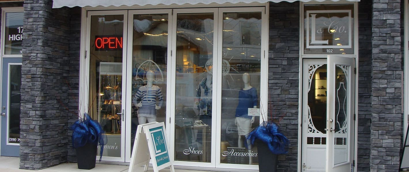 l and co storefront