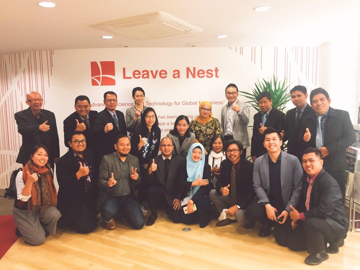 【実施報告】インドネシアより大学インキュベーター陣17名が来日!リアルテックエコシステムを学ぶツアーを実施