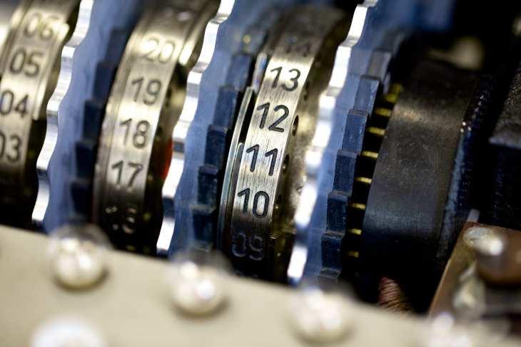 תקריב של גלגלי האניגמה. צילום: mubsta©