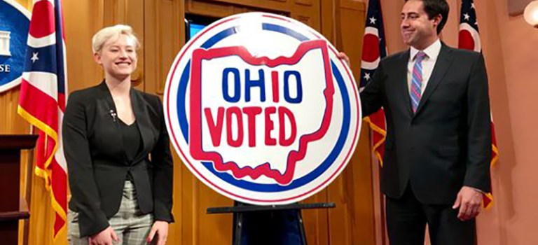 Ohio Voted For A New 'I Voted' Sticker. See The Winner.