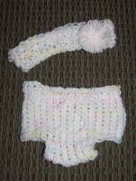 Matching Headband & Diaper Cover