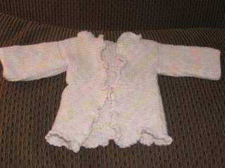 Matching Baby Sweater