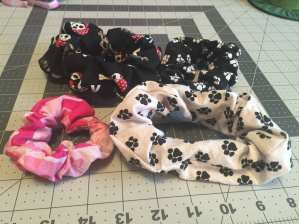 Various Scrunchies