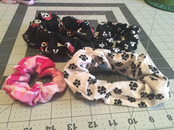 Various Scrunchies
