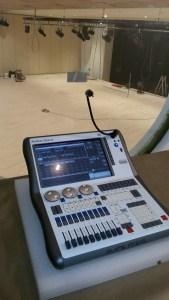 Mixer luci Avolites installato presso il Teatro Maggiore di Verbania