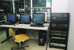Regia audio installata presso le rotative del gruppo Rizzoli Corriere della Sera