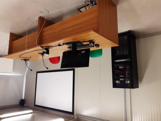 """La Nuova Sala Audio Video del Liceo """"G. Spezia"""" di Domodossola (VB)."""