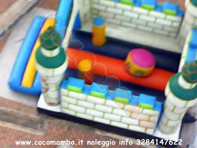 Noleggio Castello gonfiabile